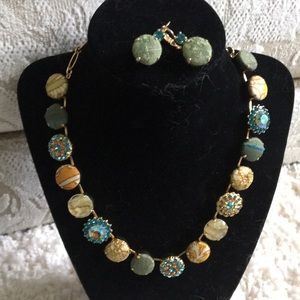 Mariana Necklace and Earrings